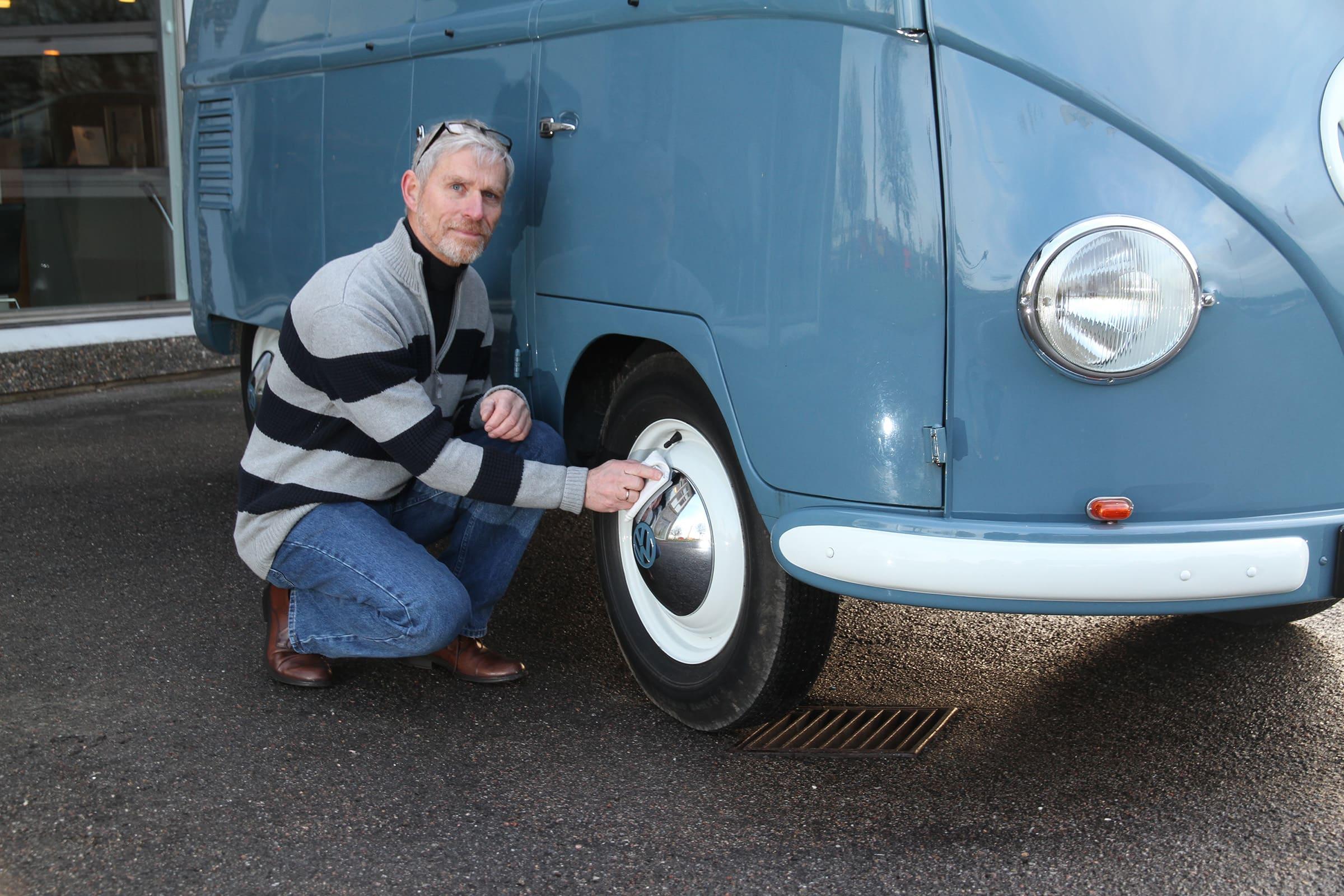 Εβδομηκοστά γενέθλια για το πιο παλιό Volkswagen Transporter