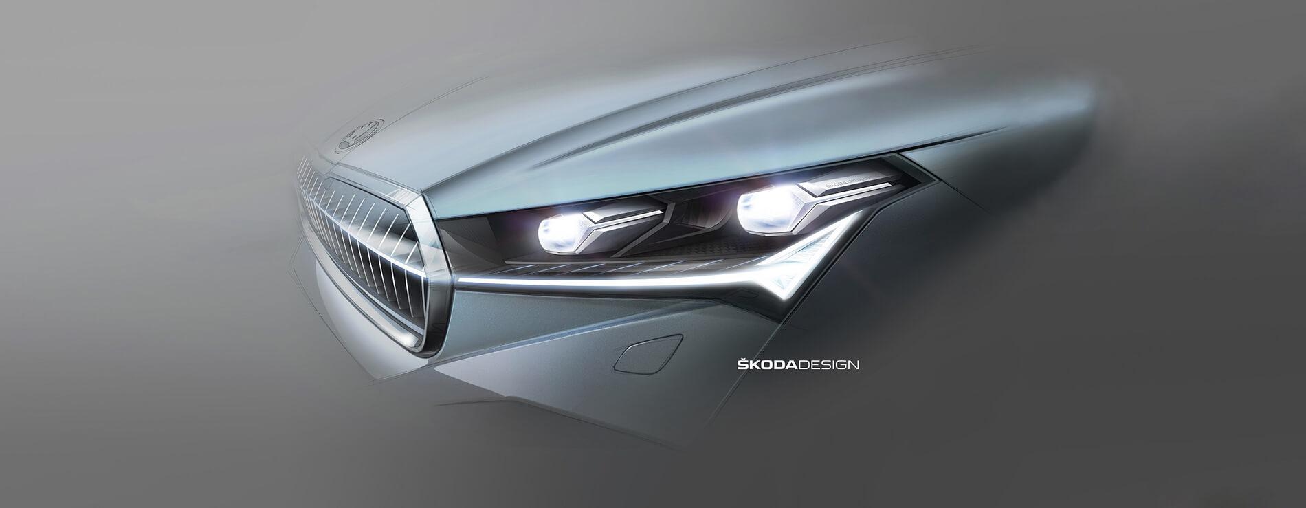 SKODA ENYAQ iV - Full LED matrix εμπρός προβολείς. Τεχνολογία με ξεχωριστό design