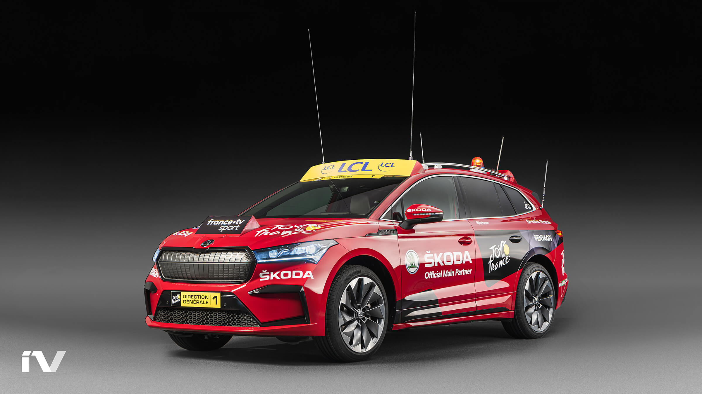 SKODA ENYAQ iV - Tour de France 2020