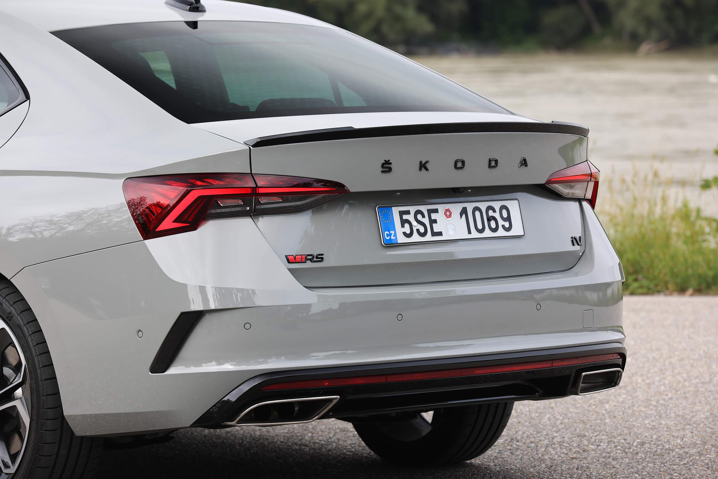 Skoda Octavia RS iV Grand Coupe
