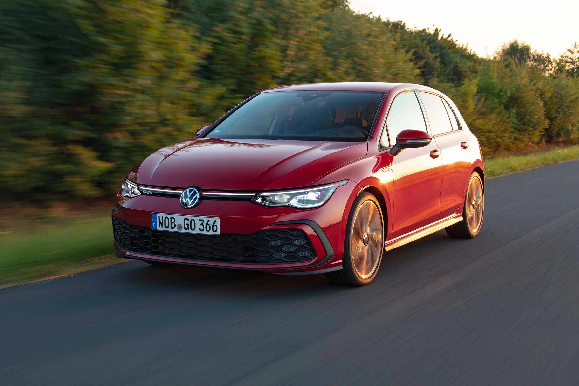 Νέο Volkswagen Golf GTI - Εμπρός όψη