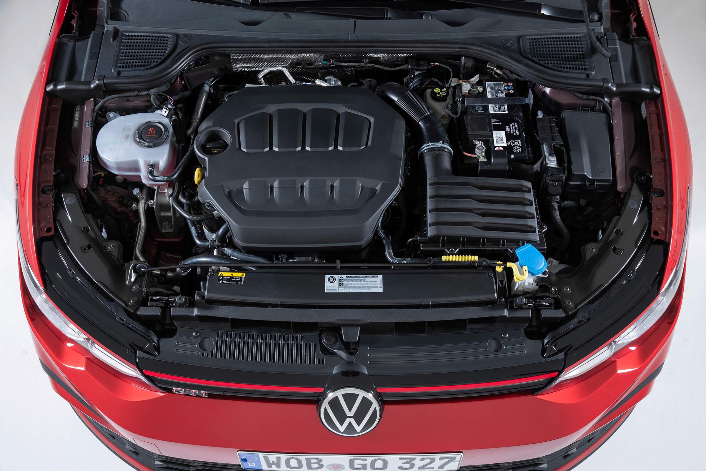Νέο Volkswagen Golf GTI - Κινητήρας κορυφαίων επιδόσεων