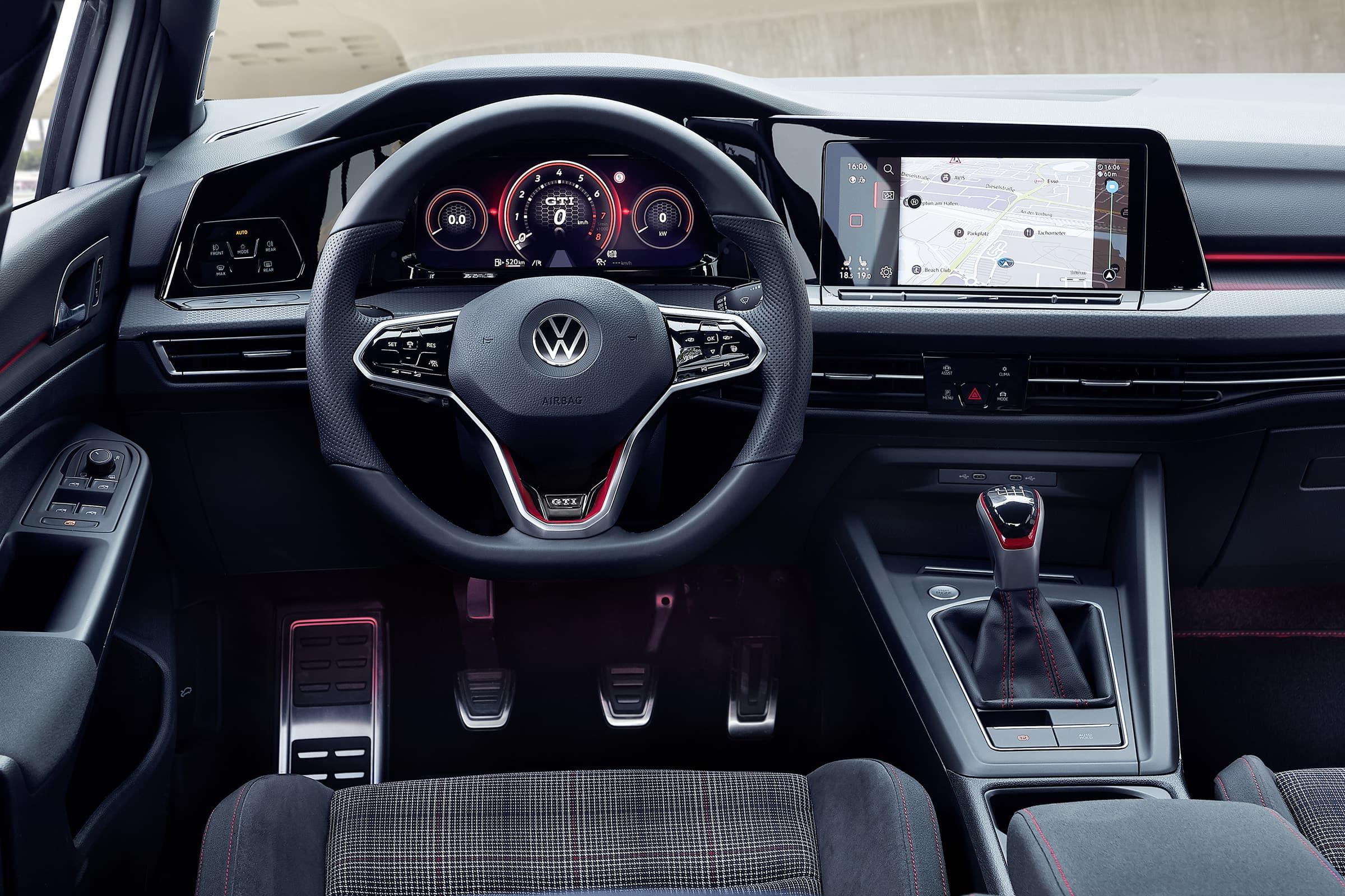 Νέο Volkswagen Golf GTI - Digital Cockpit και Σύστημα infotainment με οθόνη αφής