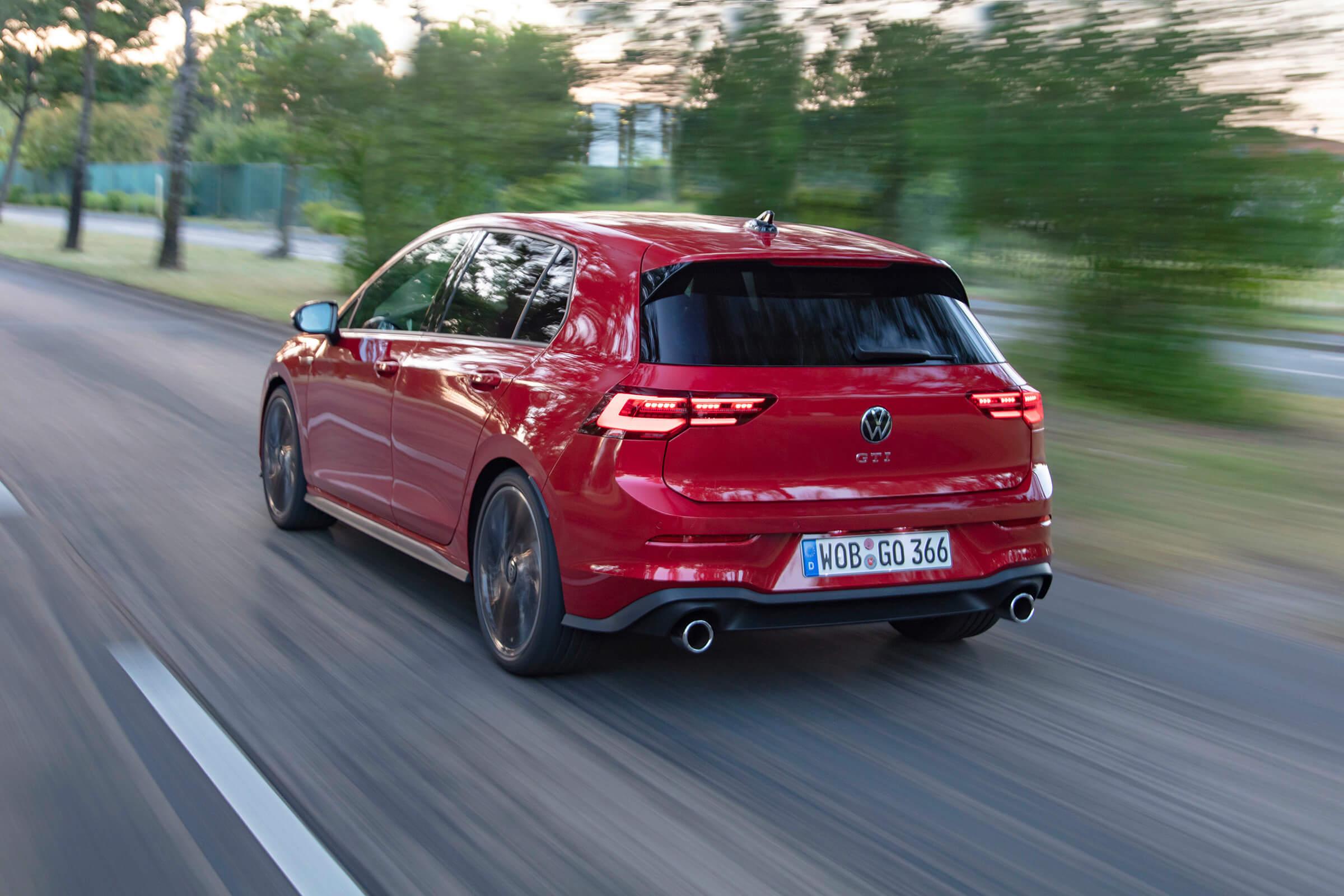 Νέο Volkswagen Golf GTI - Πίσω όψη