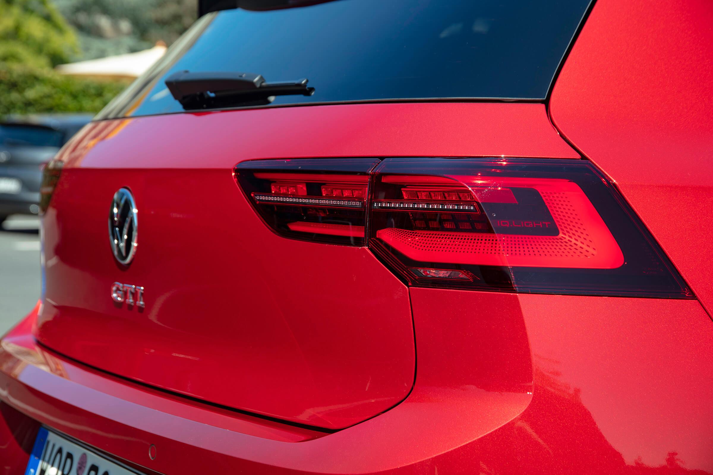 Νέο Volkswagen Golf GTI - Πίσω μέρος, λεπτομέρεια