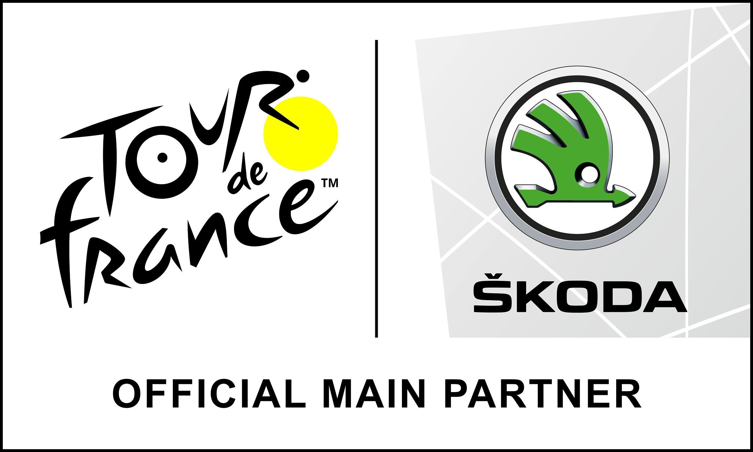 SKODA - Tour de France 2020 Official Main Partner - Logos