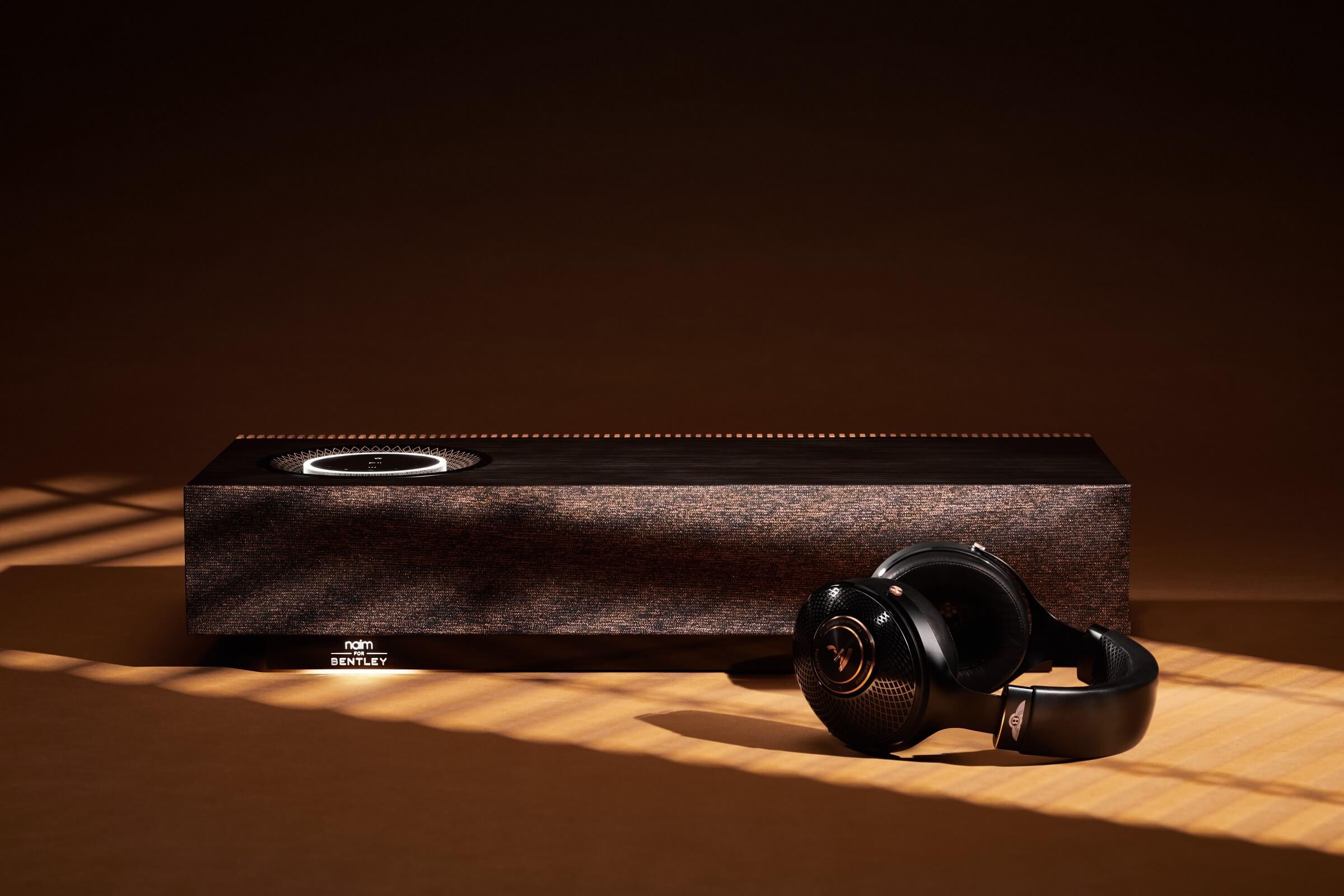 """Ασύρματο σύστημα ηχείων """"Naim for Bentley Mu-so Special Edition"""" και Ακουστικά """"Focal for Bentley Radiance"""""""