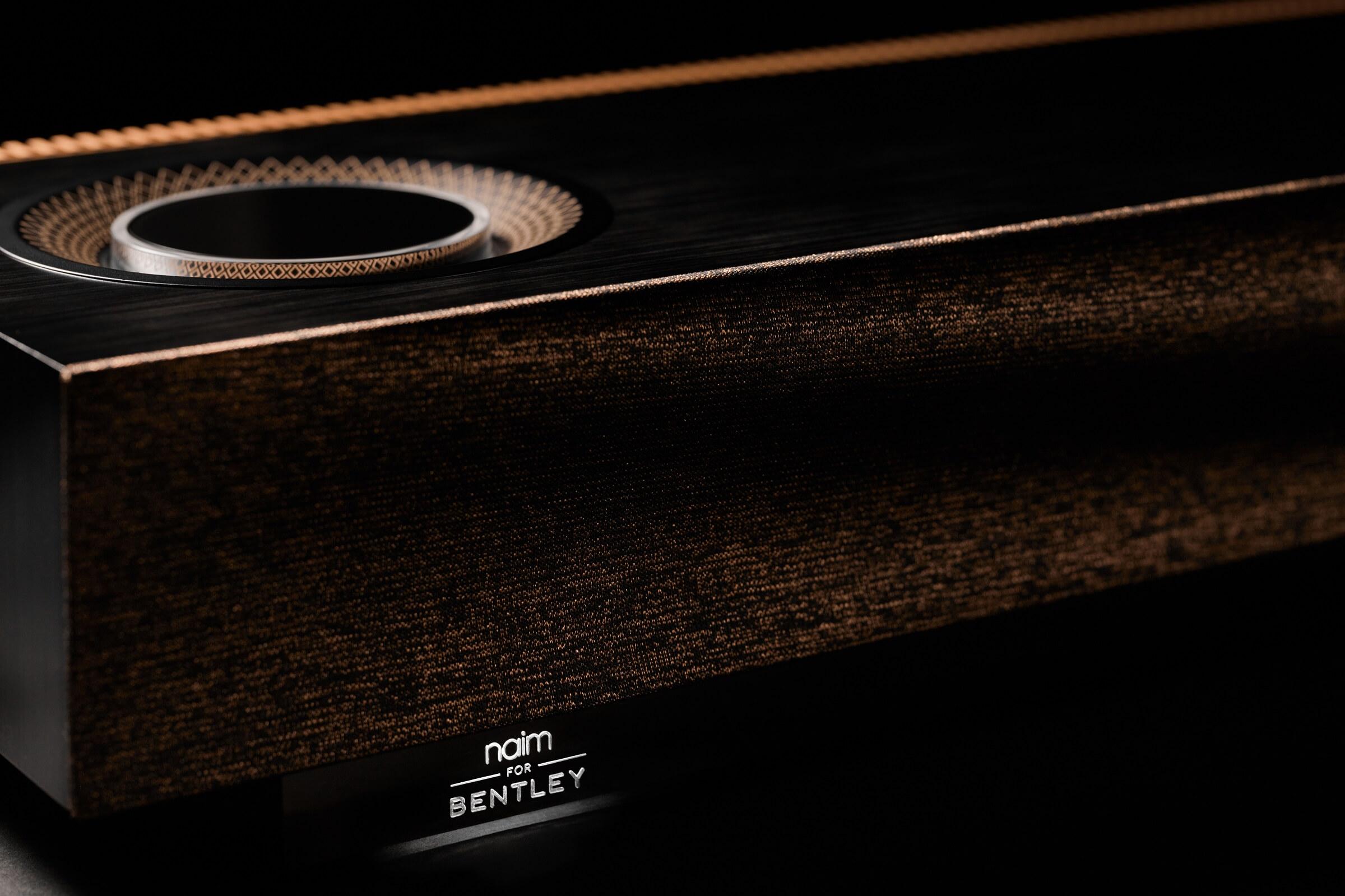 """Ασύρματο σύστημα ηχείων """"Naim for Bentley Mu-so Special Edition"""""""