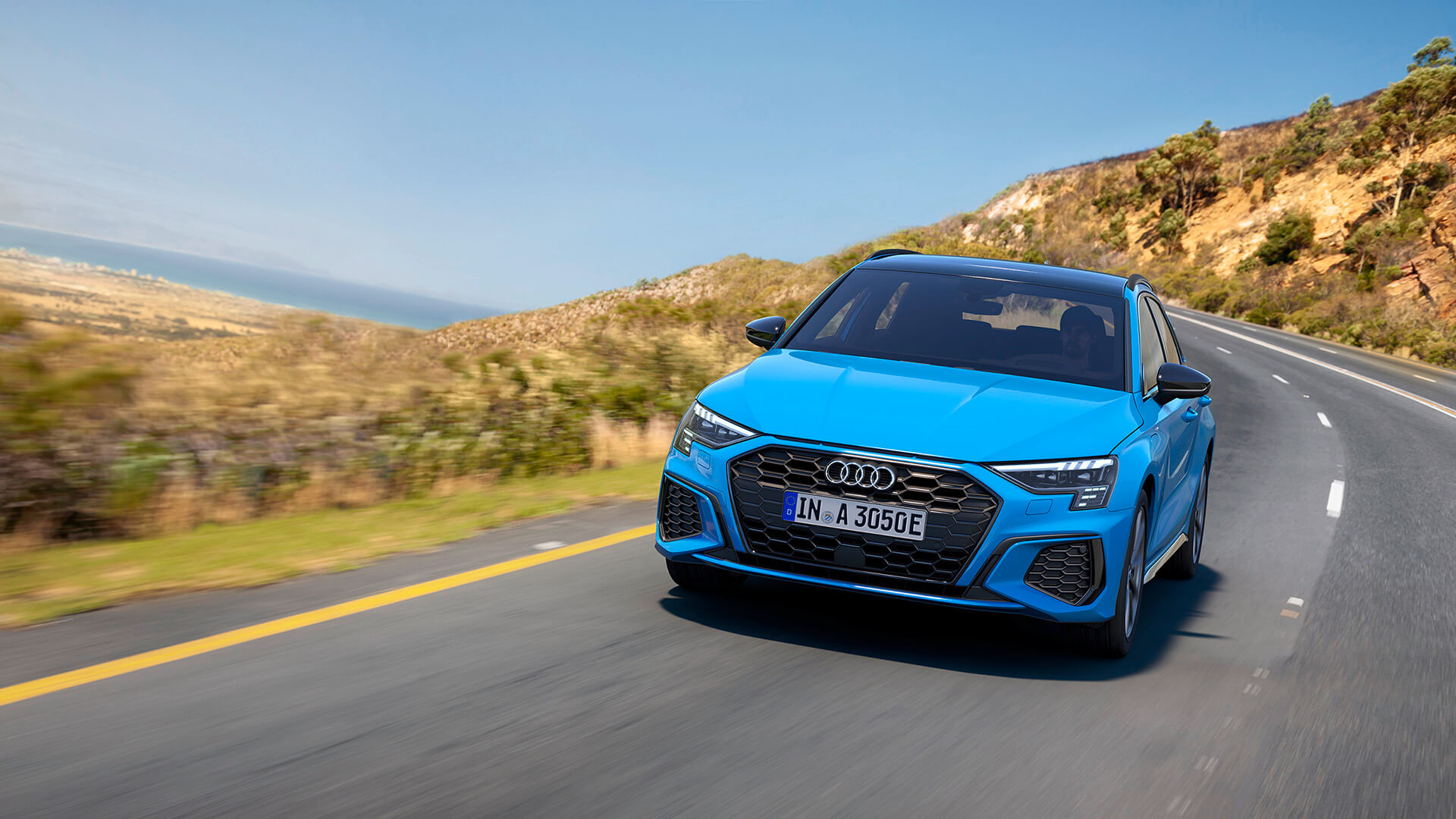 Audi A3 Sportback 40 TFSI e - Λήψη σε κίνηση