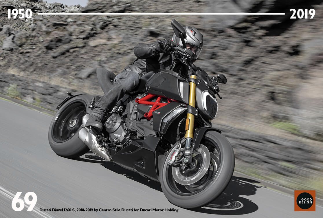 Ducati Diavel 1260 - Good Design Award