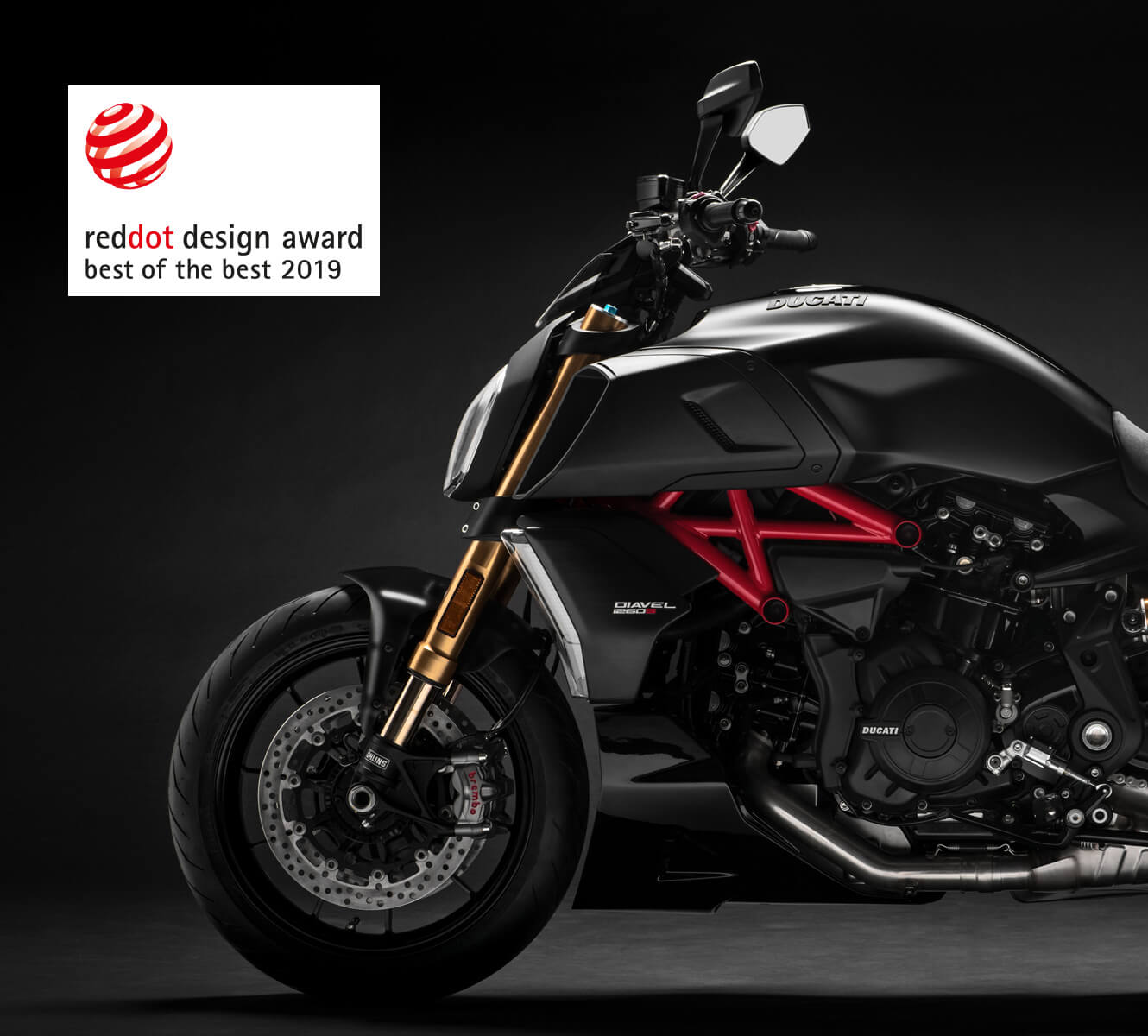 Ducati Diavel 1260 - reddot design award - Best of the best 2019
